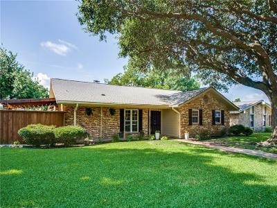 Richardson Single Family Home For Sale: 805 Pleasant Valley Lane
