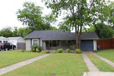 Single Family Home For Sale: 6459 Greenway Road
