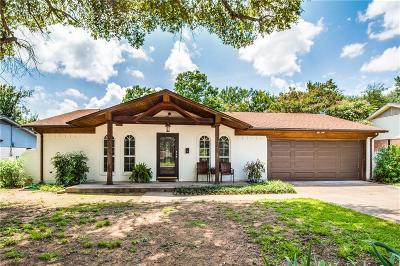 Hurst Single Family Home Active Option Contract: 417 Englewood Lane