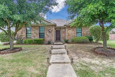 Rockwall Single Family Home Active Option Contract: 3902 Poplar Point Drive