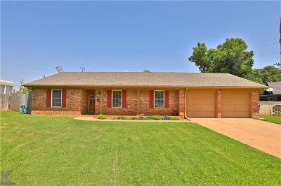 Abilene Single Family Home Active Kick Out: 2734 Brentwood Drive