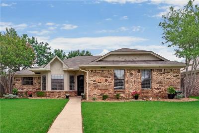 Coppell Single Family Home Active Contingent: 621 Johnson Drive
