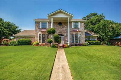 North Richland Hills Single Family Home Active Option Contract: 7321 Tipperary Court