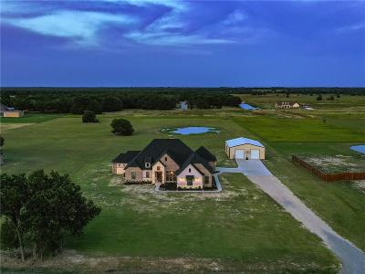 Royse City, Union Valley, Poetry Single Family Home For Sale: 5839 County Road 2560