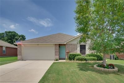 Terrell Single Family Home Active Option Contract: 1805 Ridgecrest Drive