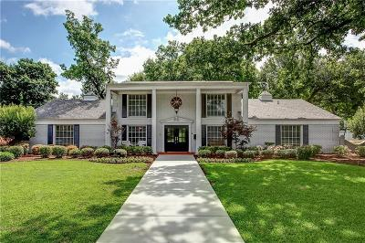 Overton Woods Add, Overton Park Add, Tanglewood Single Family Home For Sale: 3117 Overton Park Drive E