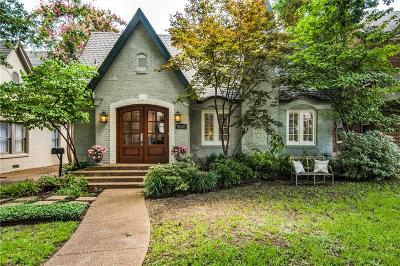 University Park Single Family Home For Sale: 4017 Stanford Avenue