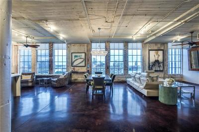 Downtown Dallas Condo For Sale: 1122 Jackson Street #908