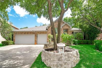 Grapevine Single Family Home Active Option Contract: 2409 Bonham Trail