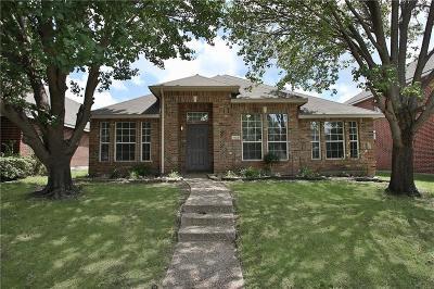 Allen Single Family Home For Sale: 1122 Shady Oaks Court