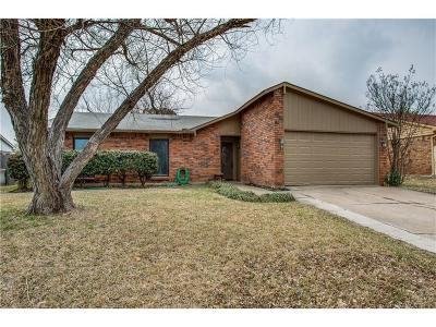 The Colony Single Family Home For Sale: 5300 Norris Drive