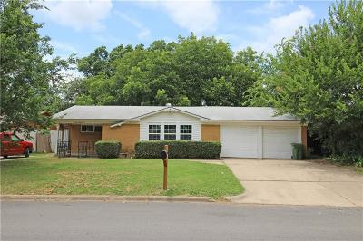 Hurst Single Family Home Active Option Contract: 1225 Norwood Drive