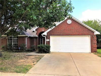 North Richland Hills Single Family Home For Sale: 6104 Cliffbrook Drive