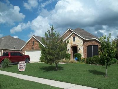 Crandall, Combine Single Family Home For Sale: 119 Haymeadow Drive