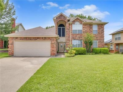 North Richland Hills Single Family Home Active Option Contract: 7504 Chapman Drive