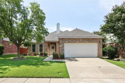 McKinney Single Family Home Active Option Contract: 6605 Charles Trail