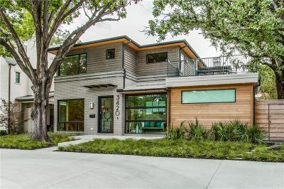 Dallas County Single Family Home For Sale: 3420 University Boulevard