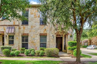 McKinney Townhouse For Sale: 8933 Soldiers Home Lane