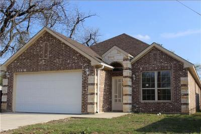 Fort Worth Single Family Home For Sale: 3820 Avenue G