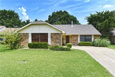 Forney Single Family Home Active Option Contract: 508 Heritage Hill Drive