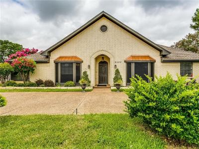 Carrollton Single Family Home For Sale: 2207 Creekview