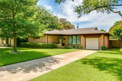 Richardson Single Family Home For Sale: 629 Downing Drive