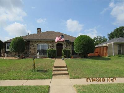 Garland Single Family Home For Sale: 2618 Ridge Oak Place