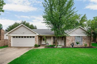 Hurst Single Family Home Active Option Contract: 729 Highland Park Drive