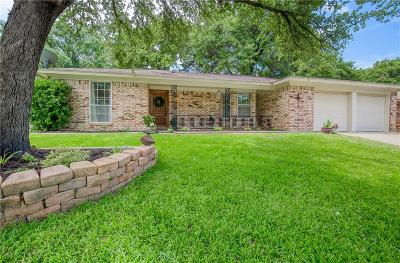 Bedford Single Family Home Active Option Contract: 1728 Brookhaven Circle