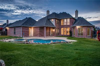 Prosper Single Family Home Active Option Contract: 1410 Cedar Springs Drive