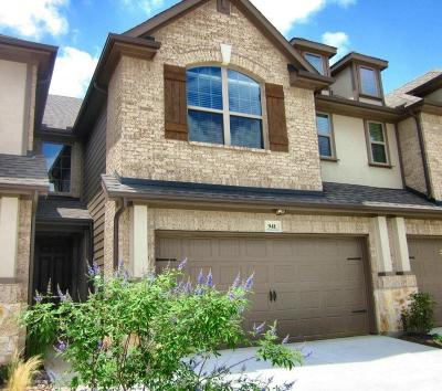 Plano Townhouse For Sale: 941 Brookville Court
