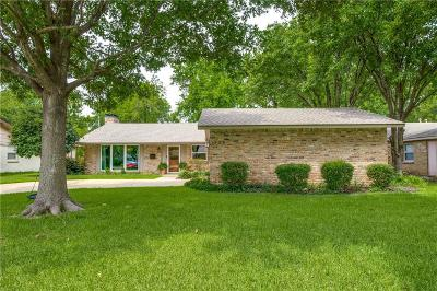 Richardson Single Family Home Active Contingent: 1709 N Waterview Drive