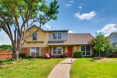 Carrollton Single Family Home Active Option Contract: 1925 Avignon Court