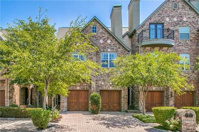 Irving Townhouse For Sale: 600 Rockingham Drive