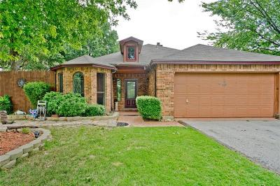 Southlake Single Family Home Active Option Contract: 1233 Woodsey Court