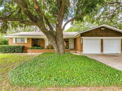 North Richland Hills Single Family Home Active Option Contract: 3509 Garwood Drive