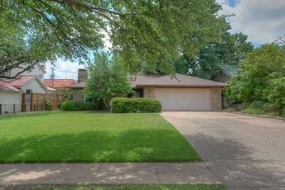 Fort Worth Single Family Home For Sale: 5017 Bryce Avenue