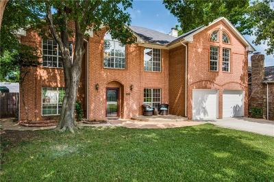 Grapevine Single Family Home For Sale: 4340 Greenwood Lane
