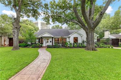 Preston Hollow Single Family Home For Sale: 6124 Del Norte Lane
