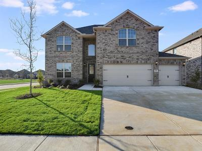 Aubrey Single Family Home For Sale: 3001 Marshall Trail Road