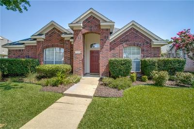 Plano Single Family Home Active Option Contract: 3825 Rolling Hills Drive