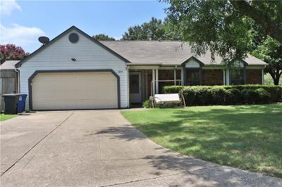 Corinth TX Single Family Home For Sale: $224,900