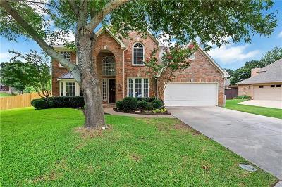 Bedford Single Family Home Active Option Contract: 3932 Pebblebrook Lane
