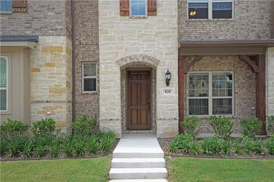 Richardson Townhouse For Sale: 828 Rohan Drive