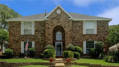 Carrollton Single Family Home Active Option Contract: 3804 Silver Maple Drive