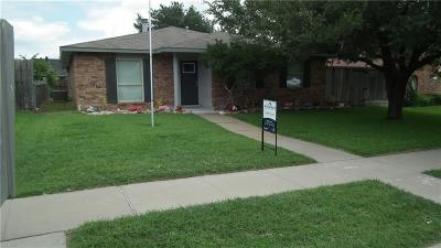 The Colony Single Family Home For Sale: 5053 Ashlock Drive