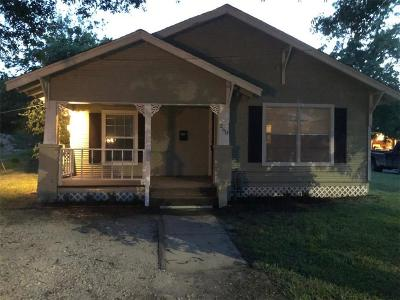 Stephenville Single Family Home Active Option Contract: 260 N Clinton Street N