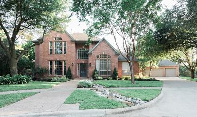 Southlake Single Family Home Active Option Contract: 1405 Richmond Court