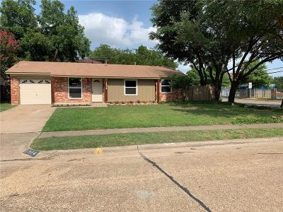 Irving Single Family Home Active Option Contract: 1924 Franklin Street
