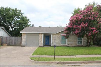 North Richland Hills Single Family Home For Sale: 7016 Southampton Drive
